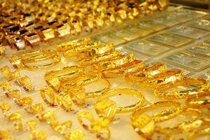 Cuối tuần, giá vàng tăng nhẹ