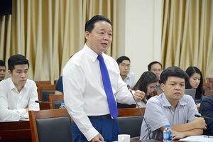 Bộ trưởng Trần Hồng Hà: Trung ương xác định phải kiên quyết, kiên trì đấu tranh bảo vệ chủ quyền biển đảo