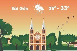 Thời tiết ngày 7/10: Hà Nội sáng sương mù, Sài Gòn chiều mưa dông