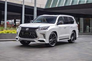 'Chuyên cơ mặt đất' Lexus LX 570 S 2019 có giá gần 120.000 USD