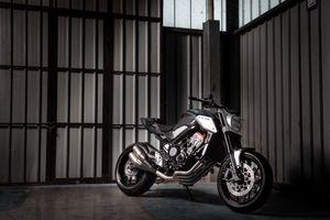 Honda ra mắt nakedbike Neo Sports Cafe Concept tại Paris Motor Show