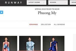 Nhà thiết kế Việt bất ngờ xuất hiện trên Vogue Mỹ