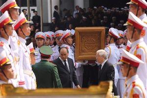 Lễ truy điệu và di quan nguyên Tổng Bí thư Đỗ Mười
