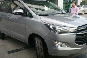 Thêm nhiều khách tố xe Toyota Innova phát tiếng kêu lạ