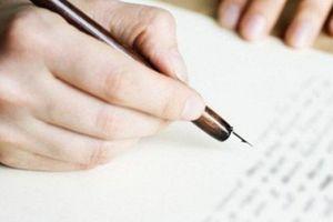 Dân mạng 'cười ra nước mắt' với lá đơn xin từ chức vợ có một không hai