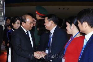 Thủ tướng Nguyễn Xuân Phúc tới Tokyo dự Hội nghị Cấp cao Hợp tác Mê Công-Nhật Bản lần thứ 10 và thăm Nhật Bản
