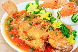 Cách làm món cá diêu hồng sốt cà chua siêu ngon hấp dẫn cả nhà