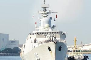 Tàu Hải quân Việt Nam được chào đón ở Osaka, Nhật Bản