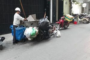 Công nhân môi trường vì một Hà Nội xanh- sạch- đẹp