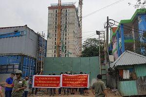 TPHCM dỡ tầng xây 'chui' dự án Tân Bình Apartment