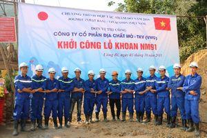 Công ty CP Mỏ địa chất khởi công công trình NM 91