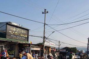 Đắk Lắk: Truy tìm xe ô tô cán Trung úy tử vong