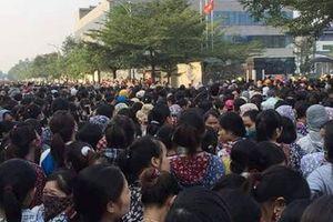 Thanh Hóa: Hàng nghìn công nhân đình công vì lương thấp, áp lực cao