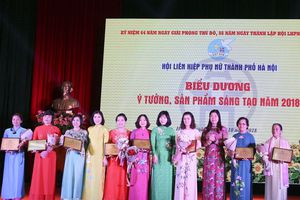 Hà Nội tôn vinh 10 ý tưởng sáng tạo, khởi nghiệp của phụ nữ Thủ đô