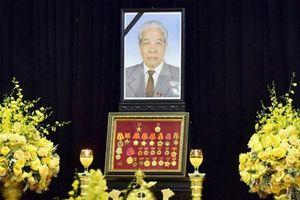 Hình ảnh Lễ đưa tang nguyên Tổng Bí thư Đỗ Mười