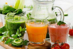 Những loại nước ép uống buổi sáng giúp cơ thể thải độc, tăng năng lượng