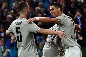 Udinese 0-2 Juventus: Ronaldo giúp 'Lão bà' lập kỷ lục khủng