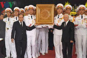 Chùm ảnh: Lãnh đạo Đảng, Nhà nước tiễn biệt nguyên Tổng Bí thư Đỗ Mười