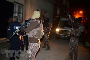 Thổ Nhĩ Kỳ bắt giữ 88 người bị nghi có liên hệ với tổ chức người Kurd