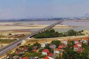 Cận cảnh cầu 1.460 tỷ đồng nối Phú Thọ và Hà Nội trước ngày thông xe