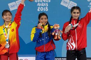 Thể thao Việt Nam có tấm HCB đầu tiên tại Olympic trẻ 2018
