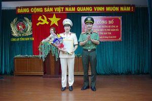 Kon Tum: Lần đầu tiên có nữ phó giám đốc Công an tỉnh