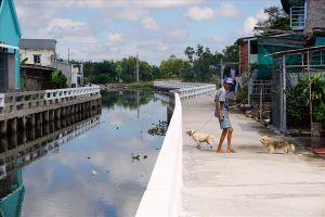 Bạc Liêu: Dòng kênh ô nhiễm nhất thành phố đã xanh trong