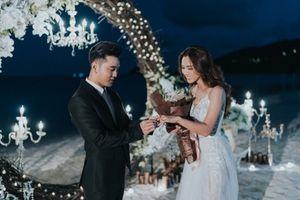 Ưng Hoàng Phúc trao nhẫn hơn 1 tỉ đồng cầu hôn Kim Cương bên bờ biển