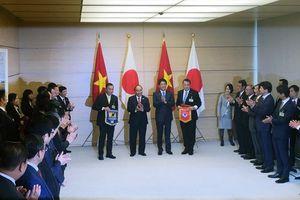 Bóng đá Việt Nam tiếp tục hợp tác toàn diện với Nhật Bản