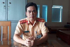 Lời kể của đại úy CSGT cởi áo cầm máu cho người bị tai nạn ở Thanh Hóa