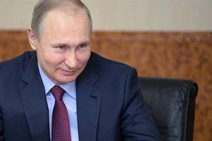 Tổng thống Putin đón sinh nhật bên gia đình