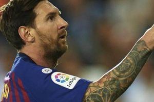 CLIP: Messi lập công, Barcelona vẫn bị Valencia 'cưa điểm'
