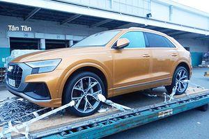 SUV hạng sang Audi Q8 2019 'cưỡi' máy bay đến Sài Gòn