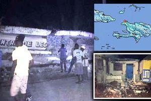 Tan hoang hiện trường động đất ở Haiti, hơn 100 người thương vong