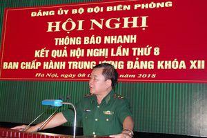 Thông báo nhanh kết quả Hội nghị lần thứ 8 Ban Chấp hành Trung ương Đảng khóa XII