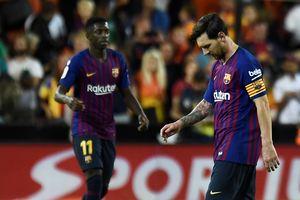 Messi lập công, Barcelona vẫn hòa trận thứ 4 liên tiếp ở La Liga