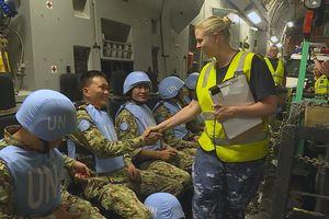 Toàn cảnh quá trình Australia hỗ trợ đoàn quân mũ nồi xanh VN tới Nam Sudan