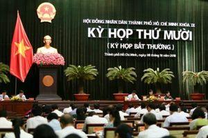 HĐND TP.HCM thông qua nhiều Nghị quyết quan trọng
