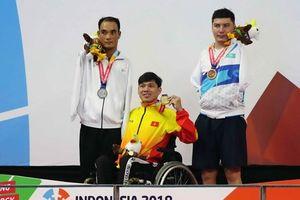 Thêm một Huy chương Vàng cho Việt Nam tại Asian Para Games