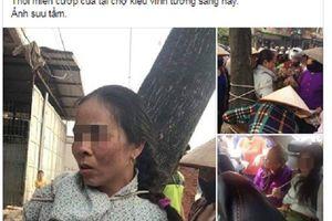 Vĩnh Phúc: Phủ nhận việc người phụ nữ bị trói vào gốc cây do 'thôi miên cướp tài sản'