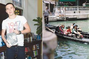 Con trai danh thủ Beckham bị cộng đồng mạng Trung Quốc tẩy chay