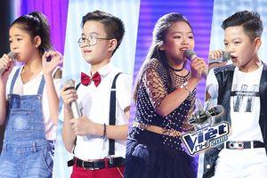 Không chạm 'đỉnh' 6 chọn, những giọng ca tài năng này vẫn 'khuynh đảo' Giọng hát Việt nhí 2018