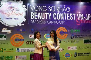 8 thí sinh vào vòng chung kết Beauty Contest Vietnam-Japan 6
