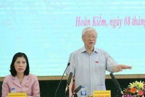 Cử tri Hà Nội: Trung ương sáng suốt khi giới thiệu Tổng Bí thư để Quốc hội bầu Chủ tịch nước