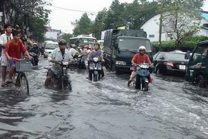 Lũ sông Cửu Long, đề phòng triều cường gây ngập lụt