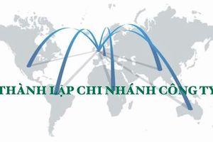 Hướng dẫn thủ tục thành lập chi nhánh công ty
