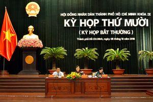 HĐND TP Hồ Chí Minh họp bất thường xem xét nhiều vấn đề nóng