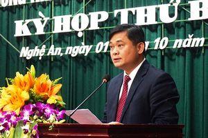 Đồng chí Thái Thanh Quý giữ chức Chủ tịch UBND tỉnh Nghệ An