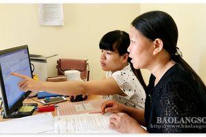 Lạng Sơn: Ứng dụng phần mềm đăng ký, quản lý hộ tịch dùng chung