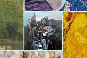Triển lãm của 6 họa sĩ 'Kết nối' từ Facebook
